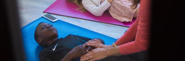Yoga enfant animé par Bérengère